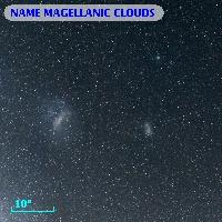 NAME MAGELLANIC CLOUDS