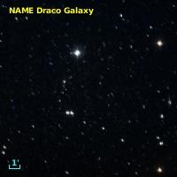 NAME DRACO DWARF SPHEROIDAL GALAXY