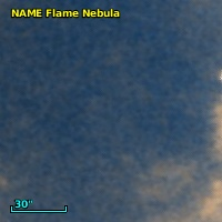 NAME FLAME NEBULA